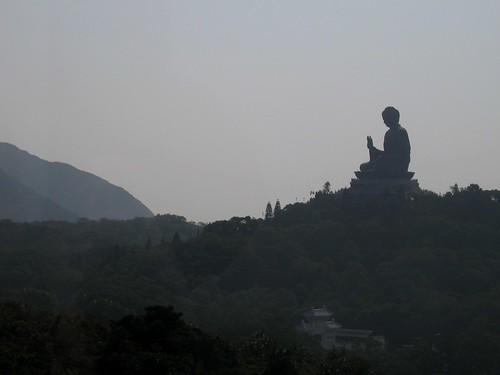 Tian Tan Buddha from Cable Car