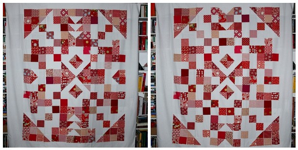 arrowheads quilt, layouts
