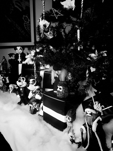 Black metal christmas tree flickr photo sharing