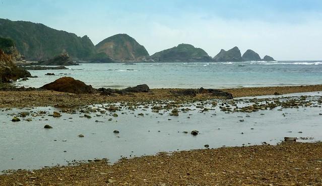 OKINAWA'S NORTHEAST COASTLINE --- The Rocks of Teniya