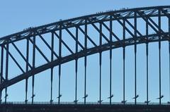Mini persones al pont