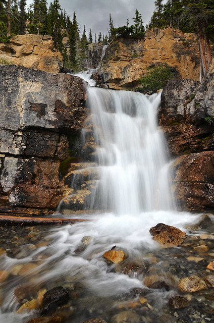 Waterfall in Banff