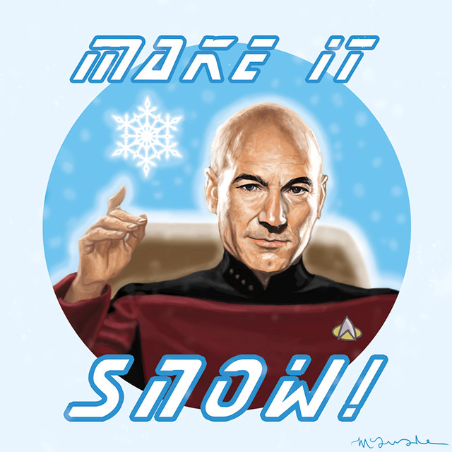 Captain-Jean-Luc-Picard-by-Patrick-McQuade