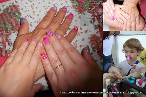 E teve mais gente querendo fazer as unhas...as Anas=)Ana Paula, Ana Lucia e Anabella by Ana Canto