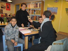 Hicham, Dounia et Hamza