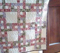 G Mary quilt hanging