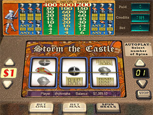 Storm the Castle slot game online review