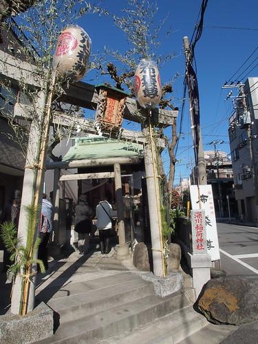 布袋尊 ... 深川稲荷神社