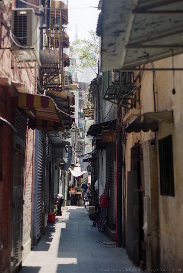 street of Macau