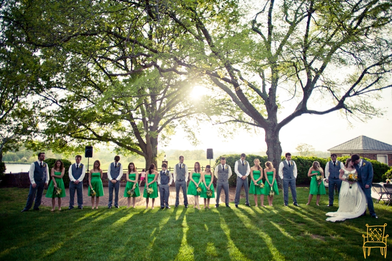 gray and yellow outdoor vintage wedding_069