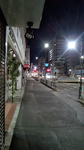 夜の明治通り