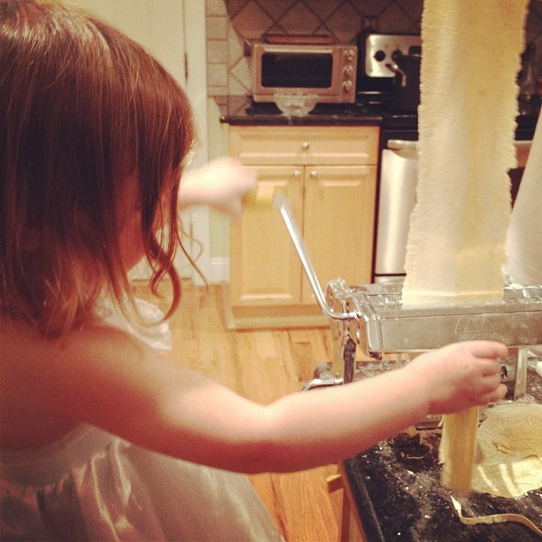 8/366 our little pasta maker