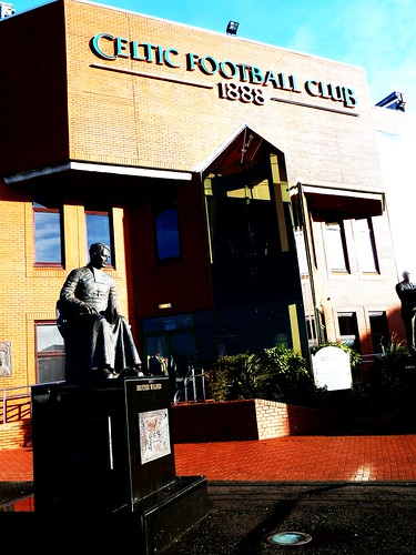 Brother Wilfred Statue, Celtic Park
