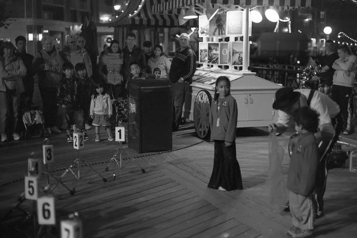 street performance...