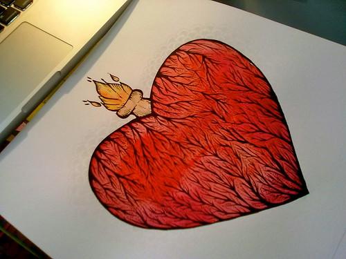 :: Clara's heart. by mariana.belem
