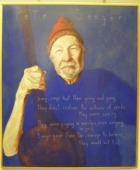 "Pete Seeger, ""Americans who Tell the Truth"" exhibit"