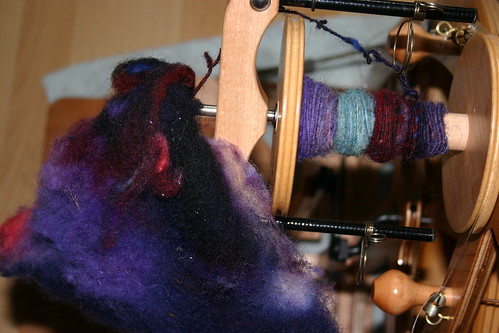 Spinning fleece