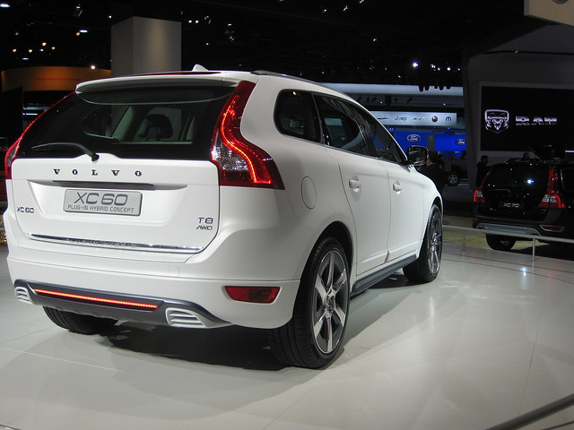 volvo xc60 plug in hybrid at naias 2012 flickr photo. Black Bedroom Furniture Sets. Home Design Ideas