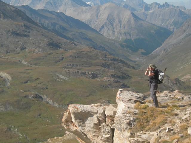 Monte Viso, Huttentocht