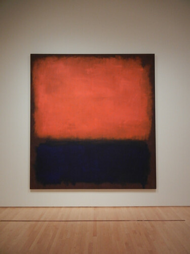No. 14, Mark Rothko, 1960, Oil on Canvas, SFMOMA _ 9642