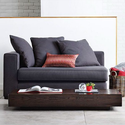 two seater comfortable modern sofa