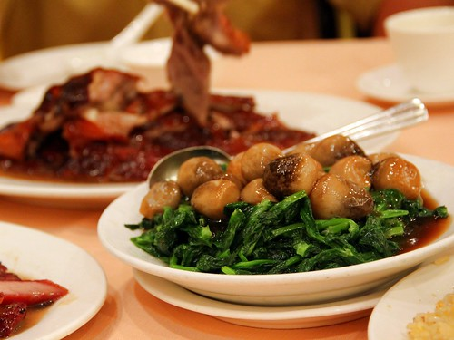 veggies @ yung kee