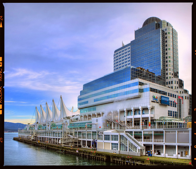 Canada Place and the Pan Pacific Hotel