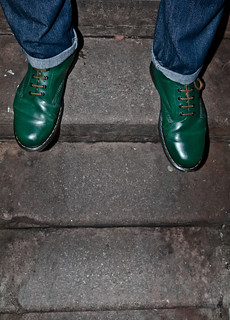 Green Doc Martens, 1460's