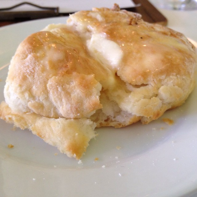 Warm Biscuit With Honey Butter @ Poogan's Porch | Flickr - Photo ...