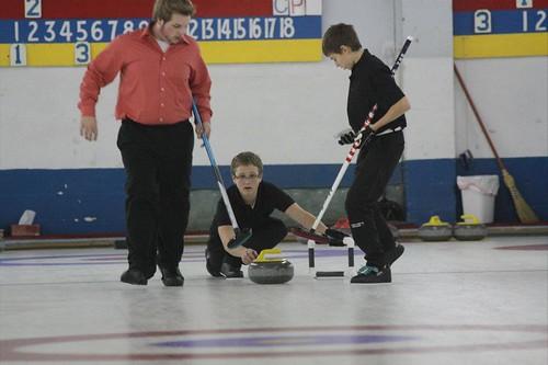 Caleb curling 2 - tiege bonspiel