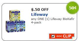 Lifeway Biokefir 4-pack Coupon