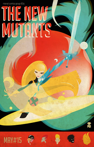 New Mutants Vol1 #15 tribute by PO!!