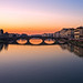 """Florence, sunset on Arno river"" (Then press L or click on photo)"
