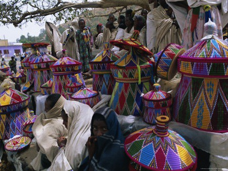 traditional ethiopian baskets