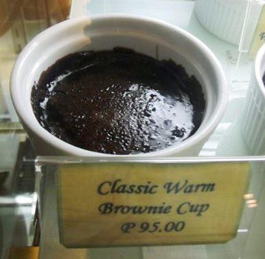 Classic Warm Brownie Cup