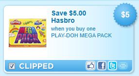 Play-Doh Mega Pack Coupon