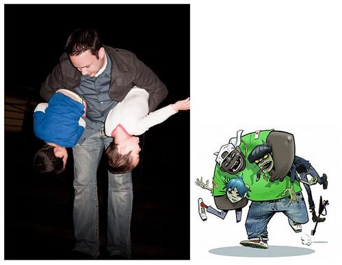 Brett vs Gorillaz