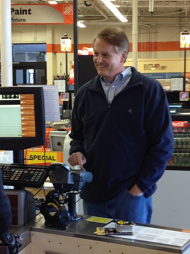 eBay CEO, John Donahoe, Visits Home Depot to pay with PayPal