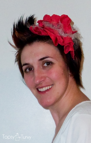 large-red-ruffled-tulle-headband-finished