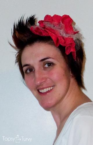 large-red-ruffled-tulle-headband-finished