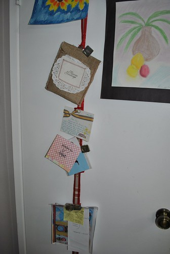 Inspiration ribbon clips Hanger