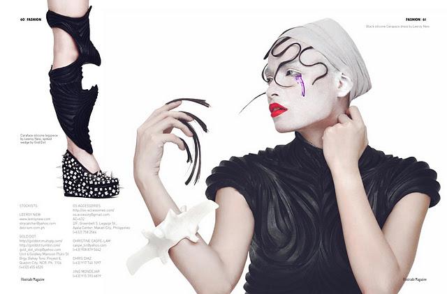 Illustrado Magazine Dubai January 2012 Cover and Main Editorial (10)