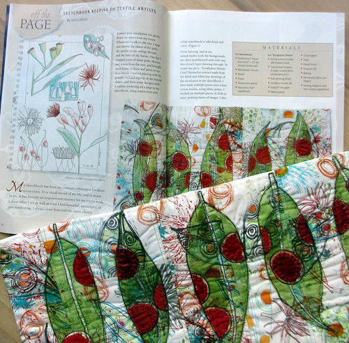 Quilting arts mag-I'm in it