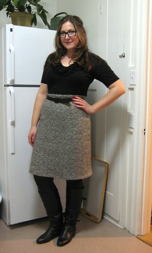 hooray for pencil skirts