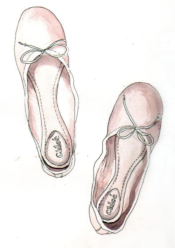 Chloe Ballet Flats