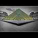 Pyramide au Louvre by Zed The Dragon