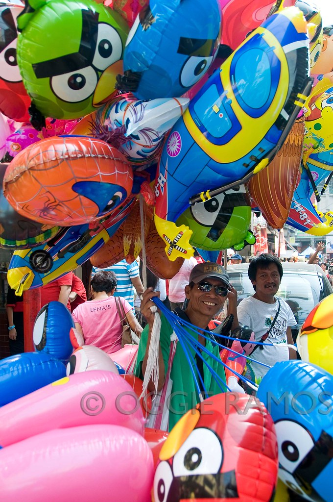 Binondo Balloon Man