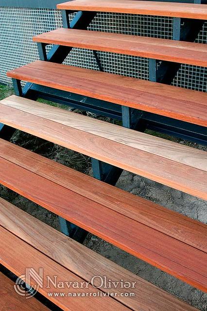 Pelda os escalera de madera exteriores flickr photo - Escaleras de madera para exteriores ...