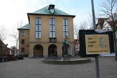 Jørgen Mads Clausen og rådhuset i Sønderborg