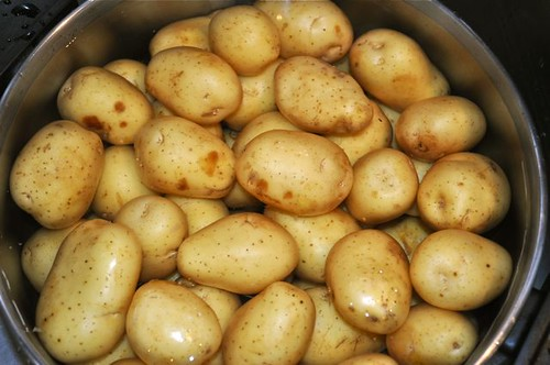 how to cook whole potatoes